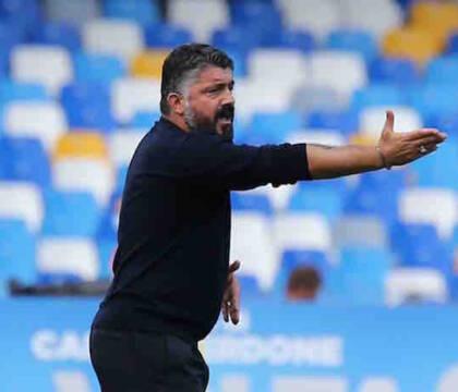 Tuttosport: febbre e mal di gola, Gattuso non va a Castel Volturno (ma il tampone è negativo)