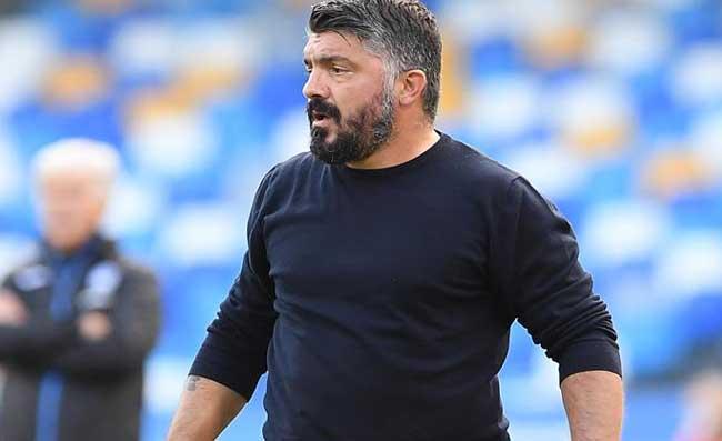 """Benevento-Napoli: 1-0 a fine primo tempo. Gattuso furioso con tre giocatori: """"Così non va!"""""""