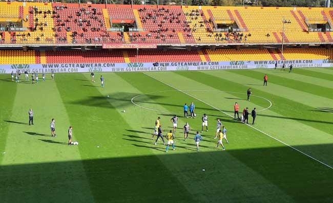 """Benevento-Napoli, coro sfottò dei tifosi sanniti: """"Gattuso, segna il portiere!"""". Ecco il motivo"""
