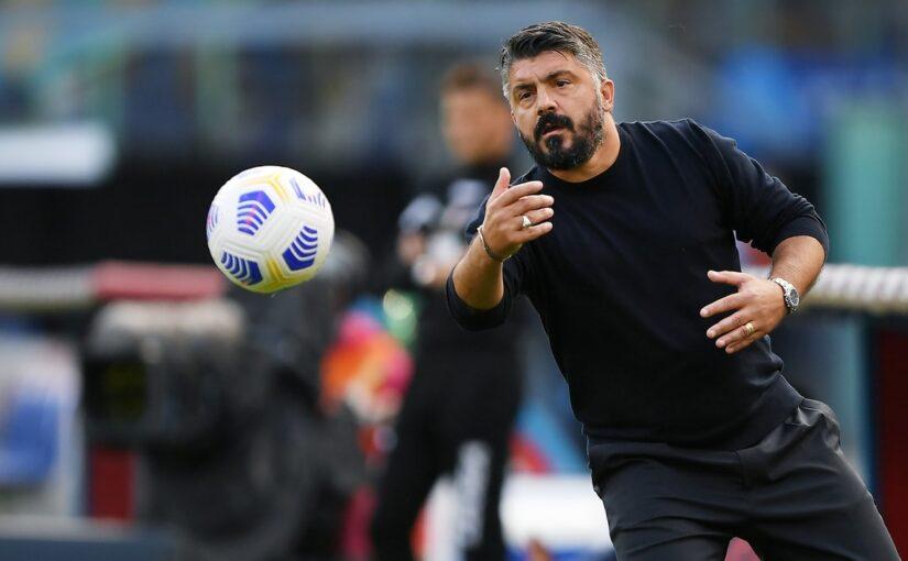 """Gattuso: """"Juve? Ho rosicato"""". De Laurentiis: """"Grandissimo Napoli. Peccato per Torino"""""""