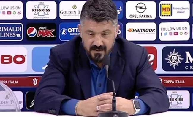 """Gattuso: """"Scudetto? La parola non ci appartiene! Scontri a Napoli? Il governo deve capire che…"""""""