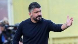 """Gattuso: """"Voglio giocare Juve-Napoli. Rinnovo? Se mi parte la vena…"""""""