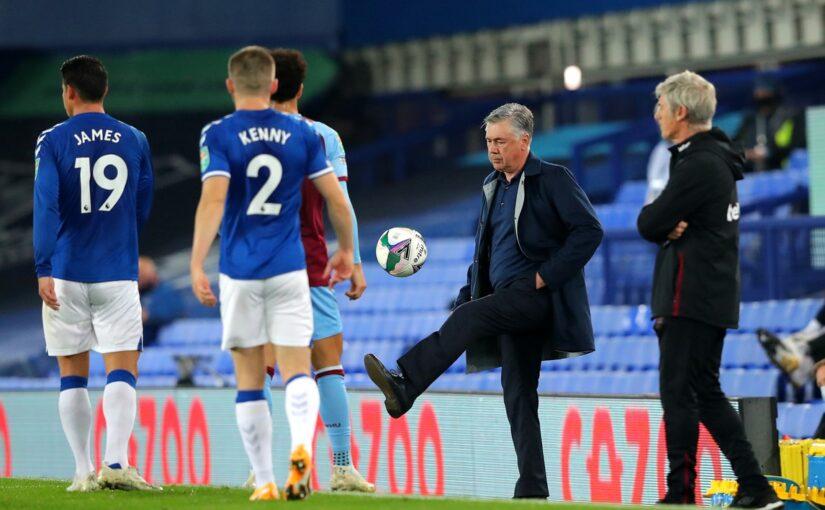 """Napoli, senti Ancelotti: """"Che sintonia nell'Everton"""""""