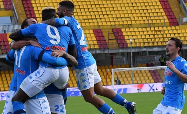 """Rino batte Pippo, Benevento ko! Il commento della SSC Napoli: """"Insigne dissolve le streghe"""""""