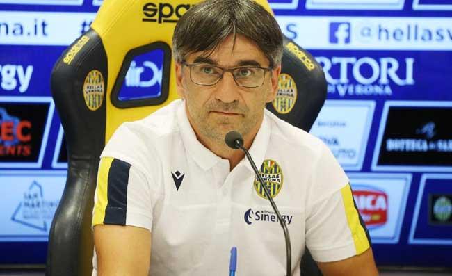 """Verona, Juric: """"Abbiamo fatto bene per 60 minuti. A fine gara mi hanno insultato e ho reagito"""""""