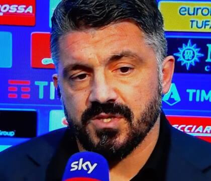 I giocatori del Napoli non hanno gradito le accuse di Gattuso, faccia a faccia nello spogliatoio