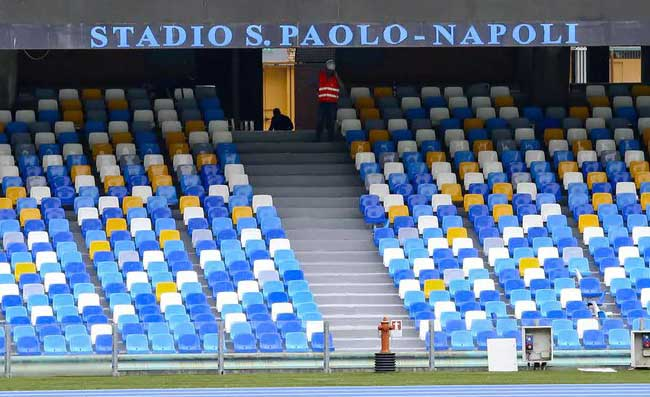 Il San Paolo senza tifosi è 'na funiculare senza corrente! Vade retro Covid, questo non è più calcio