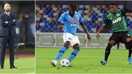 """Bucchi: """"Napoli, ecco come si batte il Sassuolo"""""""