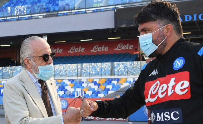 """Gattuso ha un piano e De Laurentiis lo ha capito, per questo il club lo ha """"protetto"""""""