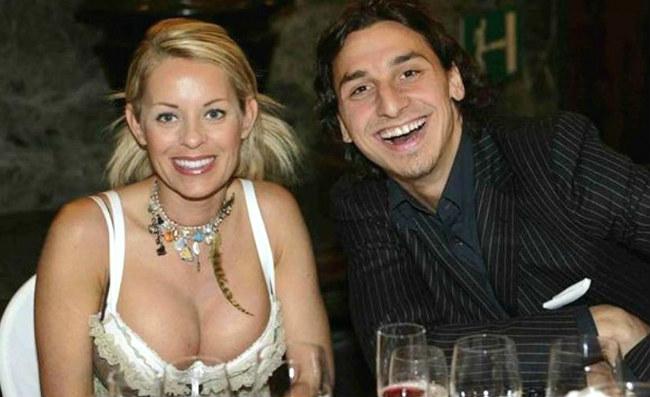 """Ibrahimovic, la compagna Helena: """"Non è facile vivere con lui. Colpo di fulmine? No, una Ferrari"""""""