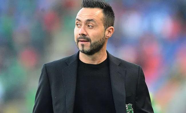 """Sabatini consiglia il Napoli: """"De Zerbi l'uomo giusto. Dategli una grande squadra"""""""