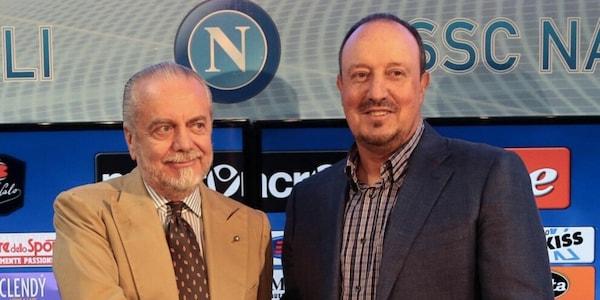 "Benitez: ""Ritorno al Napoli? Lì si può vincere. De Laurentiis visionario"""