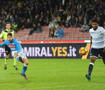 Sky: Mertens titolare contro la Lazio, insieme a Bakayoko e Hysaj