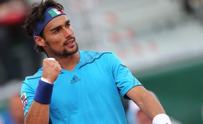 Tennis, follia Fognini: squalificato per offese al giudice di linea. Lui grida e nega