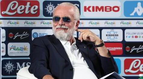 """Campoccia: """"De Laurentiis? Deciderà il meglio per il Napoli"""""""