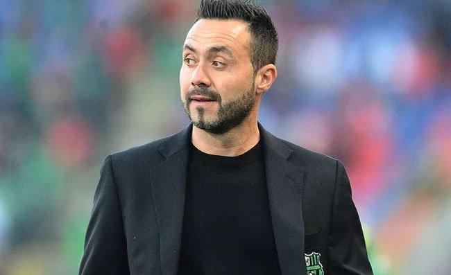 """De Zerbi: """"Mi sono precluso la possibilità in futuro di allenare Juventus, Milan o Inter"""""""