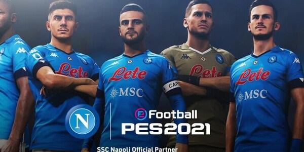 Il Napoli sbarca su Pes: ufficiale l'accordo con Konami