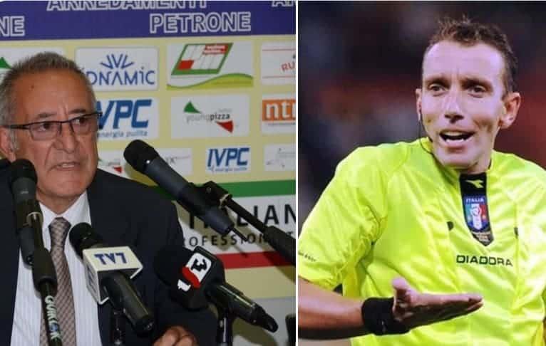 Calciopoli esiste ancora. Il CONI non indaga sugli arbitri. Il mistero dei file audio di Mazzoleni