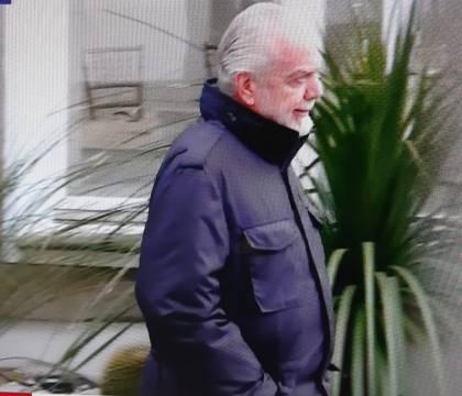 Cormez: De Laurentiis è partito ieri pomeriggio per Firenze