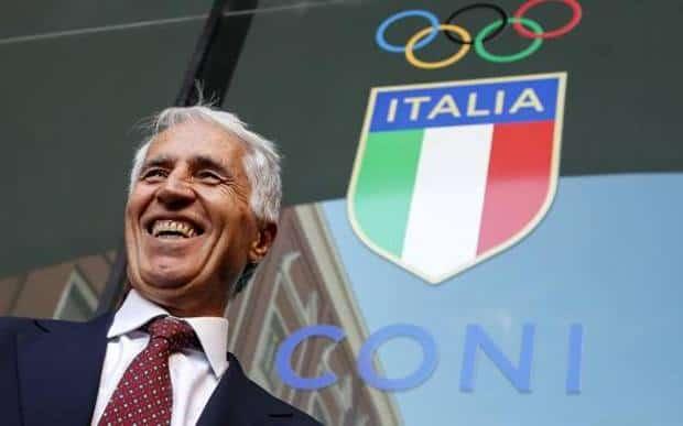 """De Laurentiis: """"Malagò rieletto al CONI. Complimenti, risultato importante per lo sport"""""""