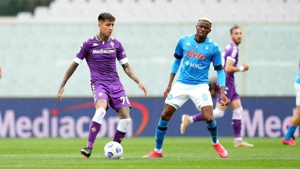 Fiorentina-Napoli 0-2: tabellino, statistiche e marcatori