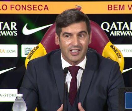 """Fonseca: """"Lascio la Roma con grande orgoglio, onorato di averci lavorato"""""""