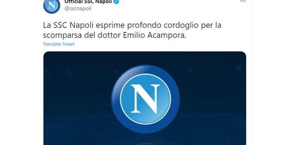 Napoli in lutto per la scomparsa del dottor Acampora