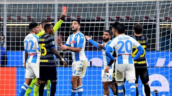 Napoli penalizzato 15 volte dagli errori arbitrali: Ecco quali sono