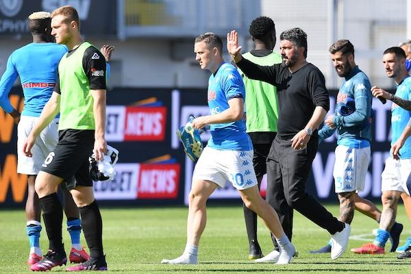 Probabili formazioni Napoli-Udinese: aggiornamenti