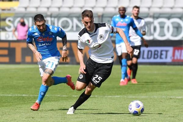 Spezia-Napoli 1-4: tabellino, statistiche e marcatori