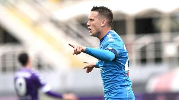 UFFICIALE – La Lega toglie il gol a Zielinski: lo 0-2 è autogol di Venuti