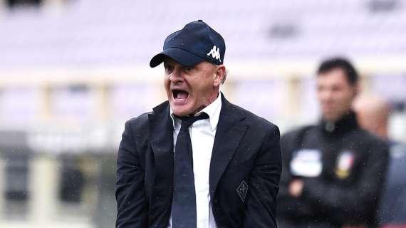 """Fiorentina, Iachini a Dazn: """"Rigore ha cambiato la gara, Rrahmani forse ha un po' accentuato"""""""