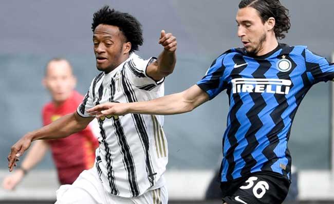 La Juventus batte l'Inter, la reazione dei calciatori del Napoli