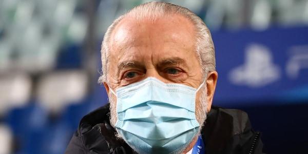 """Napoli, De Laurentiis dopo la vittoria con la Fiorentina: """"Non è finita"""""""