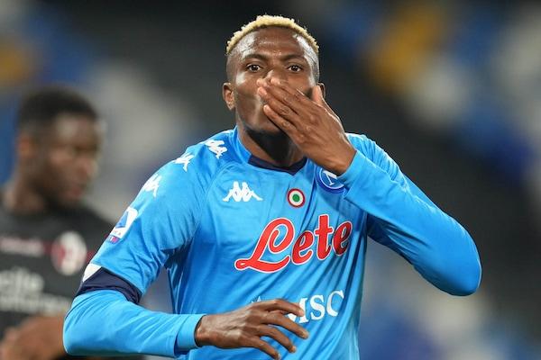 """Osimhen, parla l'agente: """"E' una macchina da gol. A Napoli sta bene"""""""