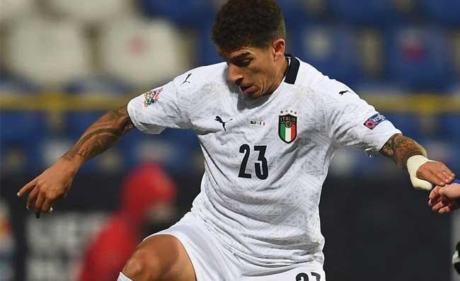 Italia, splendida giocata di Di Lorenzo: la RAI lo esalta, la reazione di Bonucci