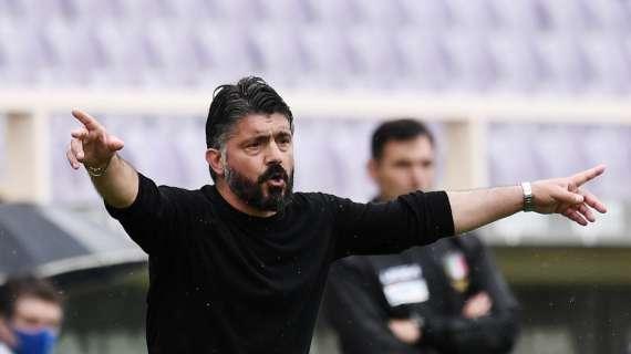 Rai – Fiorentina-Gattuso, momenti di tensione: viola alla ricerca del nuovo allenatore