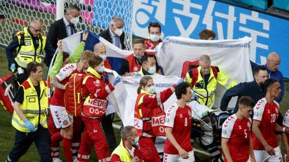 Domani Danimarca-Belgio in onore di Eriksen: al 10′ si fermerà il gioco e scatterà l'applauso