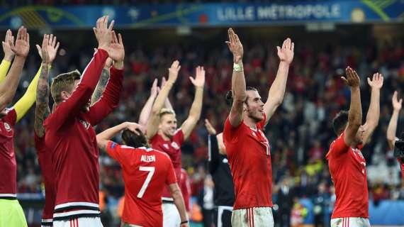 Il Galles vola in testa al girone dell'Italia: battuta 2-0 la Turchia