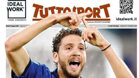 """PRIMA PAGINA – Tuttosport – """"Locatelli d'Italia"""""""