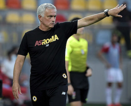La Roma di Mourinho ne segna 5 (a 2) al Debrecen