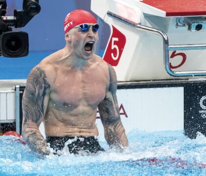 La famiglia di Peaty ha detto alla BBC che loro le Olimpiadi le guardano su Eurosport