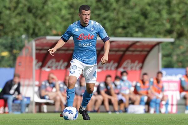 Napoli-Pro Vercelli, infortunio al ginocchio destro per Demme