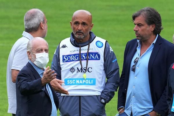 Napoli, ufficializzato lo staff tecnico di Spalletti