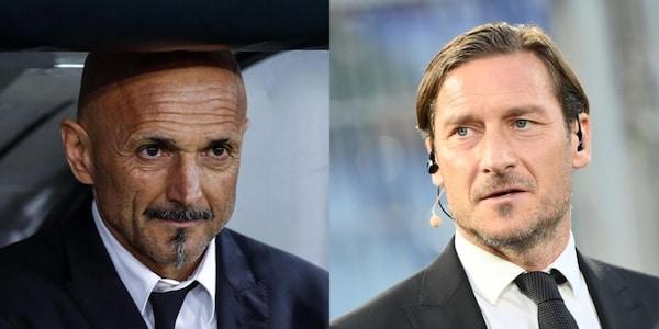 Spalletti contro Totti, che frecciate sulla serie tv in conferenza!