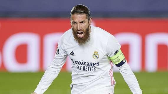 Psg su Koulibaly per l'infortunio Sergio Ramos? No, il ko dello spagnolo non è grave