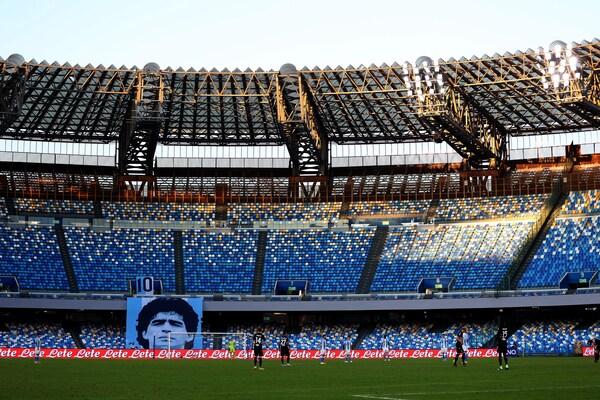Stadio Maradona, l'inaugurazione il 29 luglio insieme alla statua
