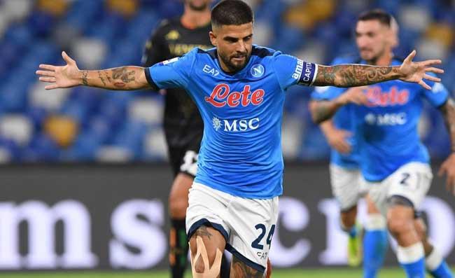Napoli-Cagliari, il gol di Insigne visto dalla tribuna. Boato al Maradona (VIDEO)