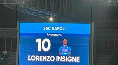 """Napoli, Insigne sulla maglia numero dieci di Maradona: """"Non si tocca"""""""