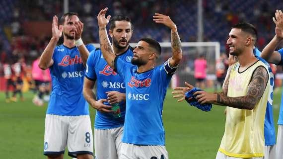 RILEGGI LIVE – Napoli-Cagliari 2-0: (12′ Osimhen, 57′ Insigne su rigore): sesta vittoria sui sei! Di nuovo primi da soli!